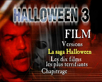 Menu 1 : HALLOWEEN 3 : LE SANG DU SORCIER (HALLOWEEN III : SEASON OF THE WITCH)