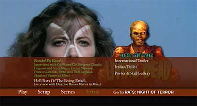 Menu 1 : HELL OF THE LIVING DEAD (BLU-RAY)