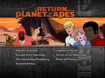 Menu 1 : RETURN TO THE PLANET OF THE APES