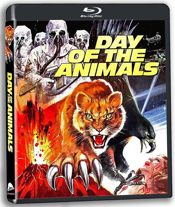 DAY OF THE ANIMALS Blu-ray Zone 0 (USA)
