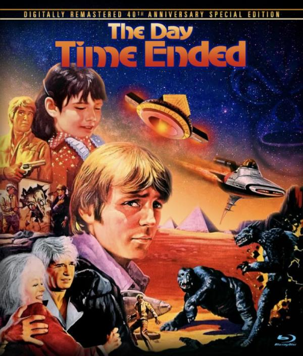 THE DAY TIME ENDED Blu-ray Zone A (USA)