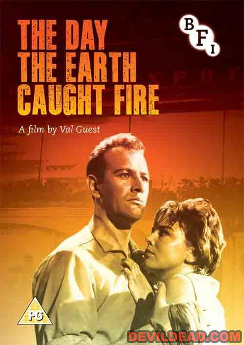 THE DAY THE EARTH CAUGHT FIRE DVD Zone 2 (Angleterre)
