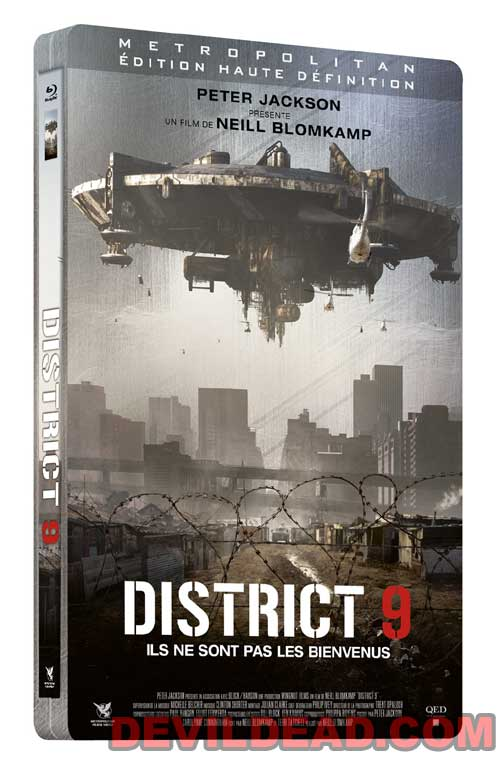 DISTRICT 9 Blu-ray Zone B (France)