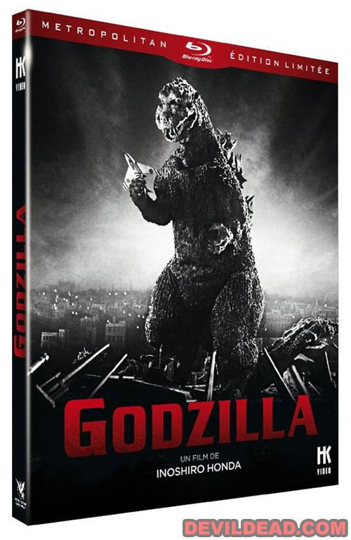 GODZILLA NO GYAKUSHU Blu-ray Zone B (France)