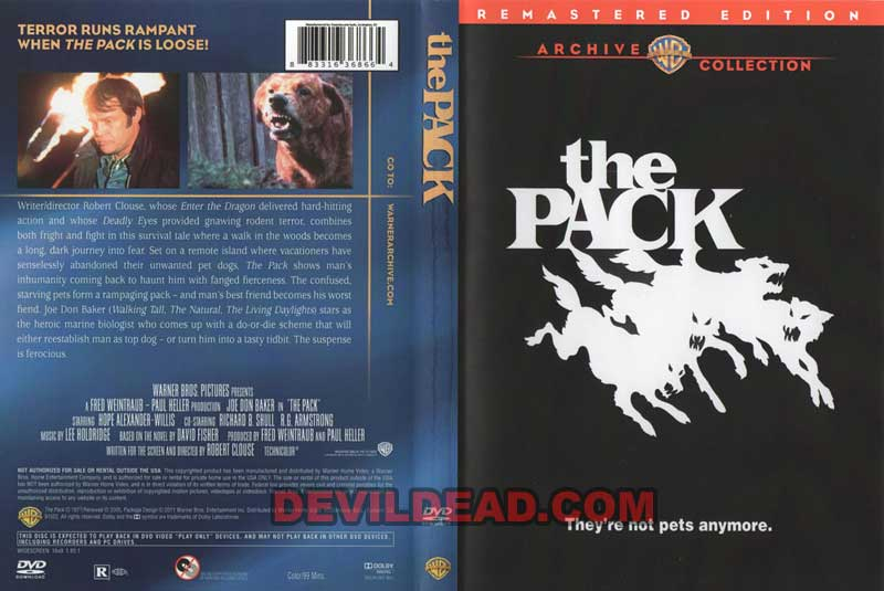 THE PACK DVD Zone 0 (USA)