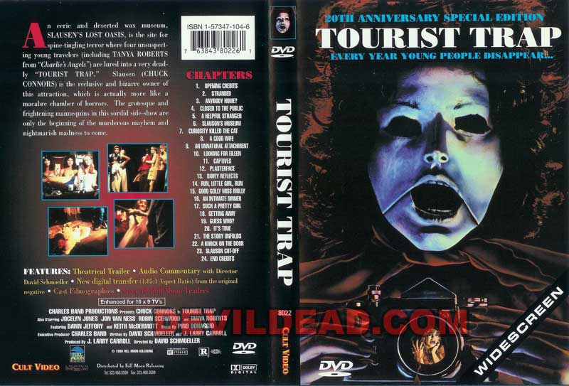 TOURIST TRAP DVD Zone 0 (USA)