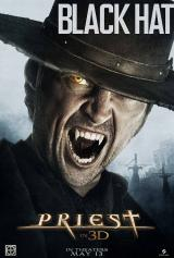 PRIEST (2010) - Poster : Black Hat