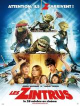LES ZINTRUS (ALIENS IN THE ATTIC) - Poster