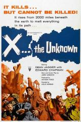 X THE UNKNOWN - Poster