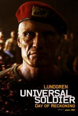 UNIVERSAL SOLDIER : DAY OF RECKONING - Lundgren Poster