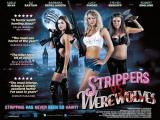 STRIPPERS VS WEREWOLVES - UK Poster