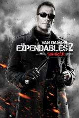 EXPENDABLES 2 - Van Damme Poster