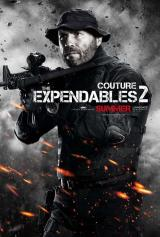 EXPENDABLES 2 - Couture Poster