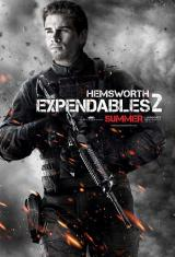 EXPENDABLES 2 - Hemsworth Poster