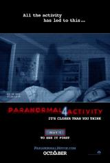 PARANORMAL ACTIVITY 4 - Poster