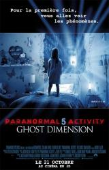 PARANORMAL ACTIVITY : THE GHOST DIMENSION - Poster