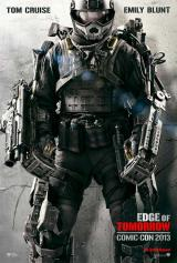EDGE OF TOMORROW - Comic Con 2013 Poster