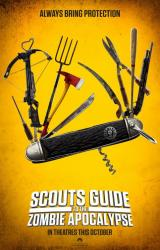 SCOUTS GUIDE TO THE ZOMBIE APOCALYPSE - Teaser Poster