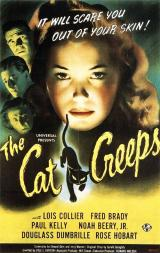 THE CAT CREEPS - Poster