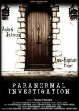 PARANORMAL INVESTIGATION - Poster