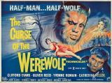 THE CURSE OF THE WEREWOLF : Quad Poster #12649