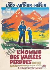 HOMME DES VALLEES PERDUES - Poster