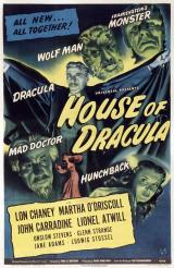 HOUSE OF DRACULA - Poster
