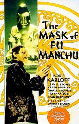 THE MASK OF FU MANCHU - Poster