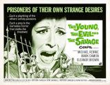 THE YOUNG, THE EVIL AND THE SAVAGE - Quad Poster