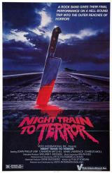 NIGHT TRAIN TO TERROR - Poster