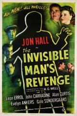 THE INVISIBLE MAN'S REVENGE - Poster