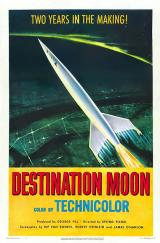 DESTINATION MOON - Poster