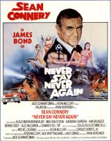 NEVER SAY NEVER AGAIN - Poster