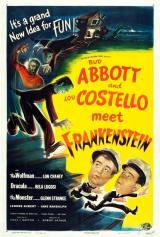 ABBOTT AND COSTELLO MEET FRANKENSTEIN - Poster