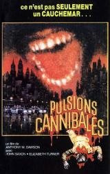 PULSIONS CANNIBALES - Poster