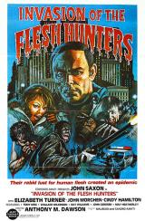 INVASION OF THE FLESH EATERS - Poster