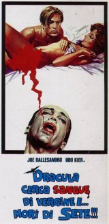 BLOOD FOR DRACULA Poster 3