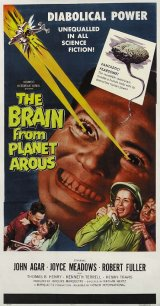 BRAIN FROM PLANET AROUS, THE Poster 1