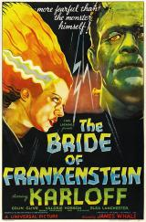 BRIDE OF FRANKENSTEIN - Poster