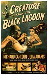 CREATURE FROM THE BLACK LAGOON, THE Poster 1