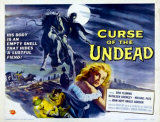 CURSE OF THE UNDEAD - Poster