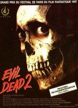 EVIL DEAD 2 : DEAD BY DAWN Poster 2