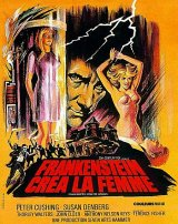 FRANKENSTEIN CREATED WOMAN Poster 1