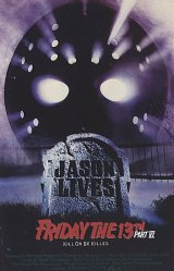 FRIDAY THE 13TH PART 6 : JASON LIVES Poster 2