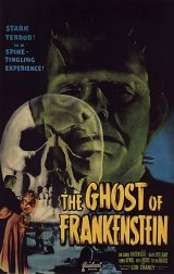 GHOST OF FRANKENSTEIN, THE Poster 1