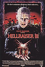 HELLRAISER III : HELL ON EARTH Poster 1