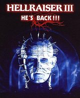 HELLRAISER III : HELL ON EARTH Poster 2
