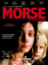 MORSE (LET THE RIGHT ONE IN) - Affiche française