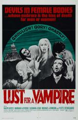 LUST FOR A VAMPIRE - Poster