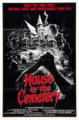 HOUSE BY THE CEMETERY - Poster